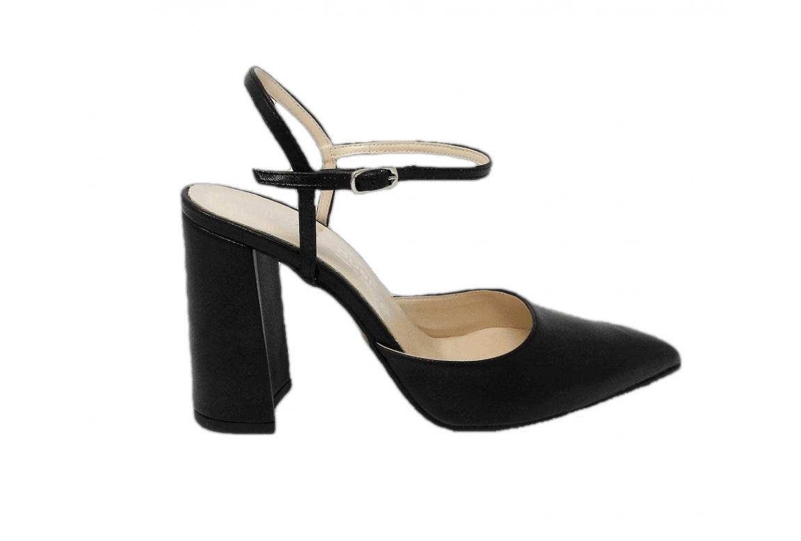 Shoe women style chanel elegant - black - 1
