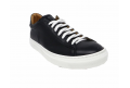 Sports shoe with lacing long black - 2