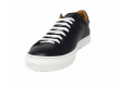 the inner toe - sport Shoe with lacing long black color